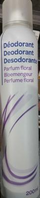 Déodorant parfum floral - Produit - fr