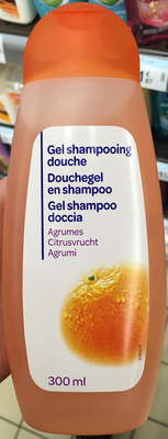 Gel shampooing douche Agrumes - Product - fr