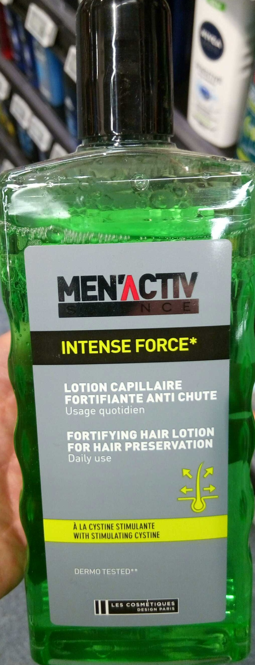 Intense Force Lotion Capillaire fortifiante anti chute - Product