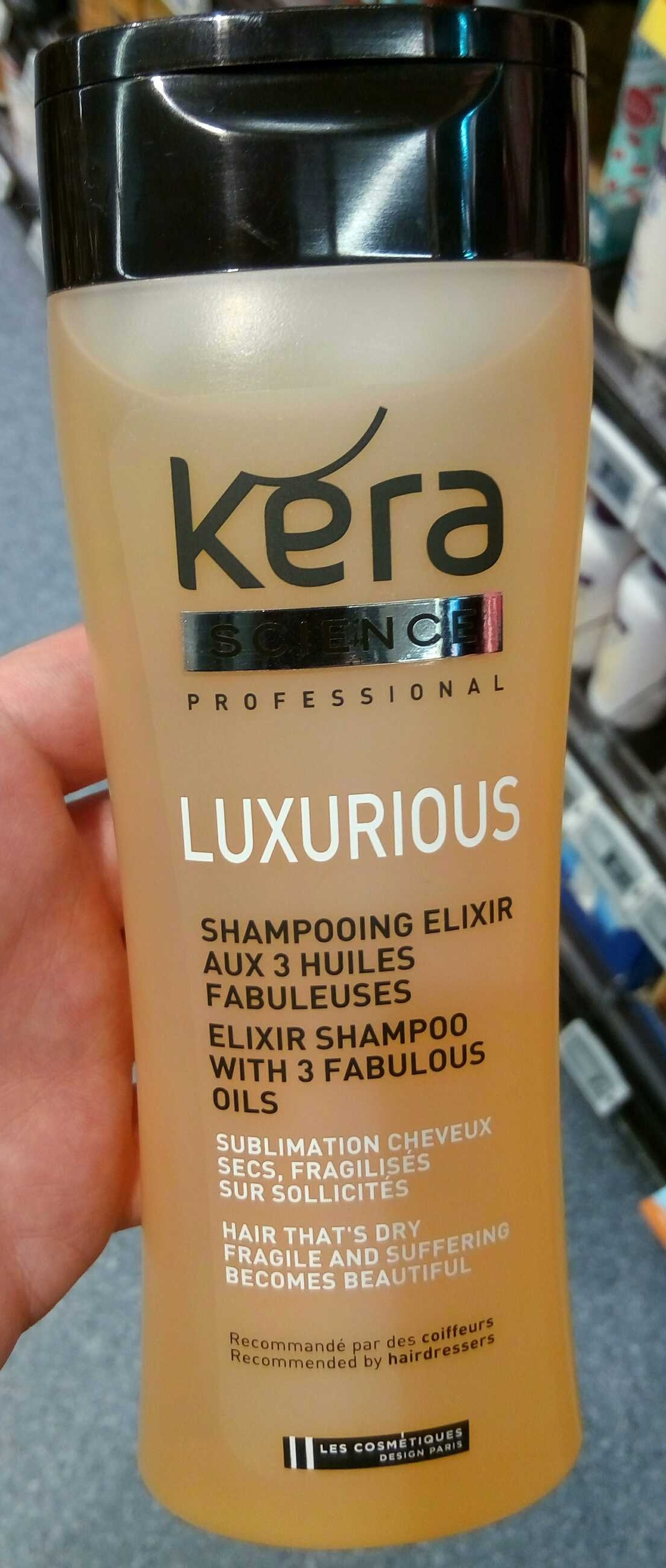 Luxurious Shampooing elixir aux 3 huiles fabuleuses - Product - fr