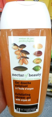 Gel douche exfoliant à l'huile d'argan - Product
