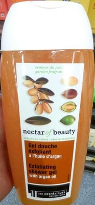Gel douche exfoliant à l'huile d'argan - Produit