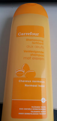 Carrefour Shampooing fortifiant aux œufs - Product
