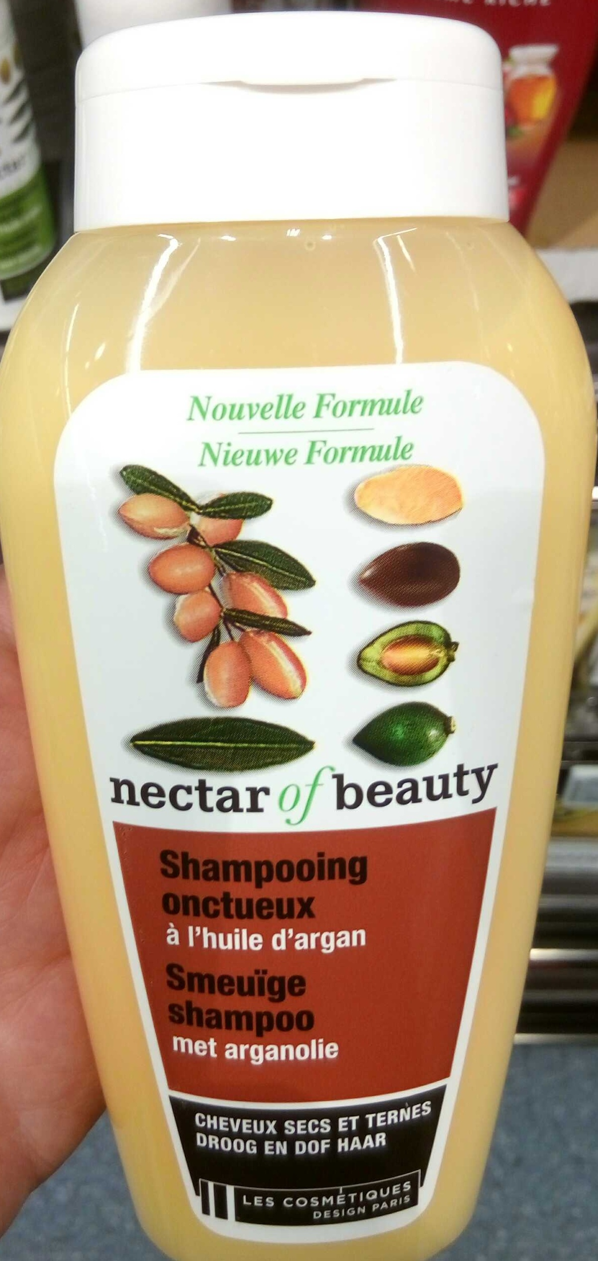 Shampooing onctueux à l'huile d'argan - Product