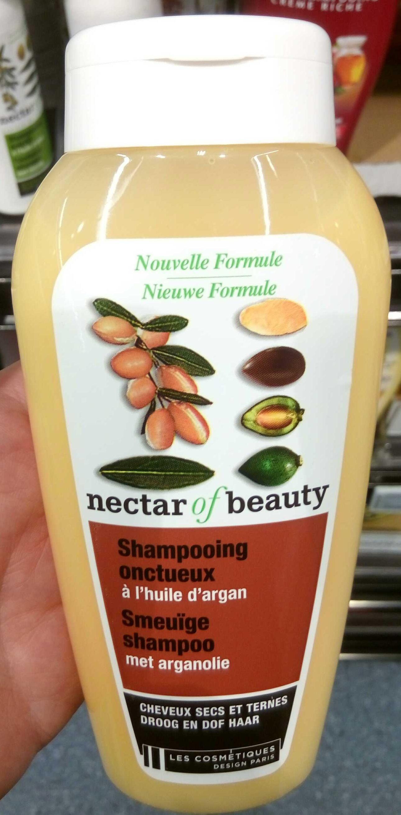 Shampooing onctueux à l'huile d'argan - Produit