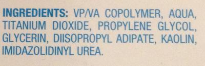 Patchs purifiants - Ingrédients