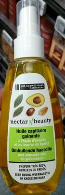 Huile capillaire gainante à l'huile d'avocat et au beurre de karité - Product