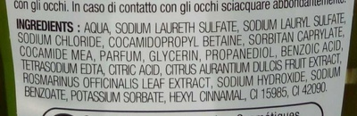 Shampooing normalisant - Ingredients