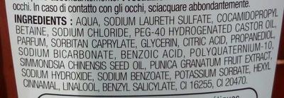 Shampooing raviveur de couleur - Ingredients