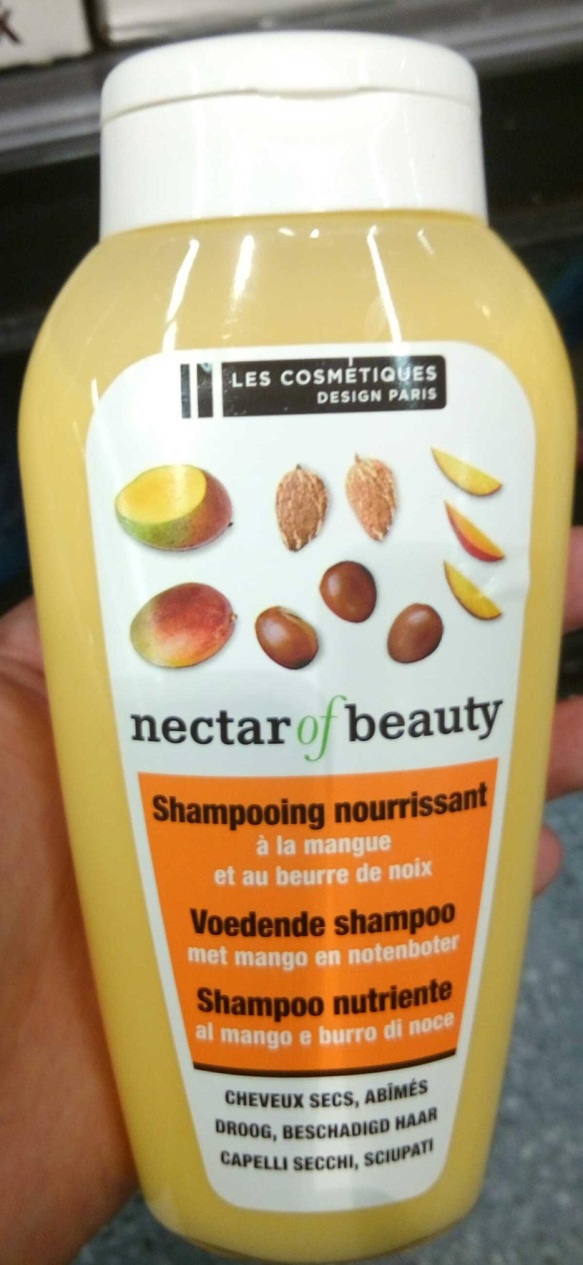 Shampooing nourrissant à la mangue et au beurre de noix - Product