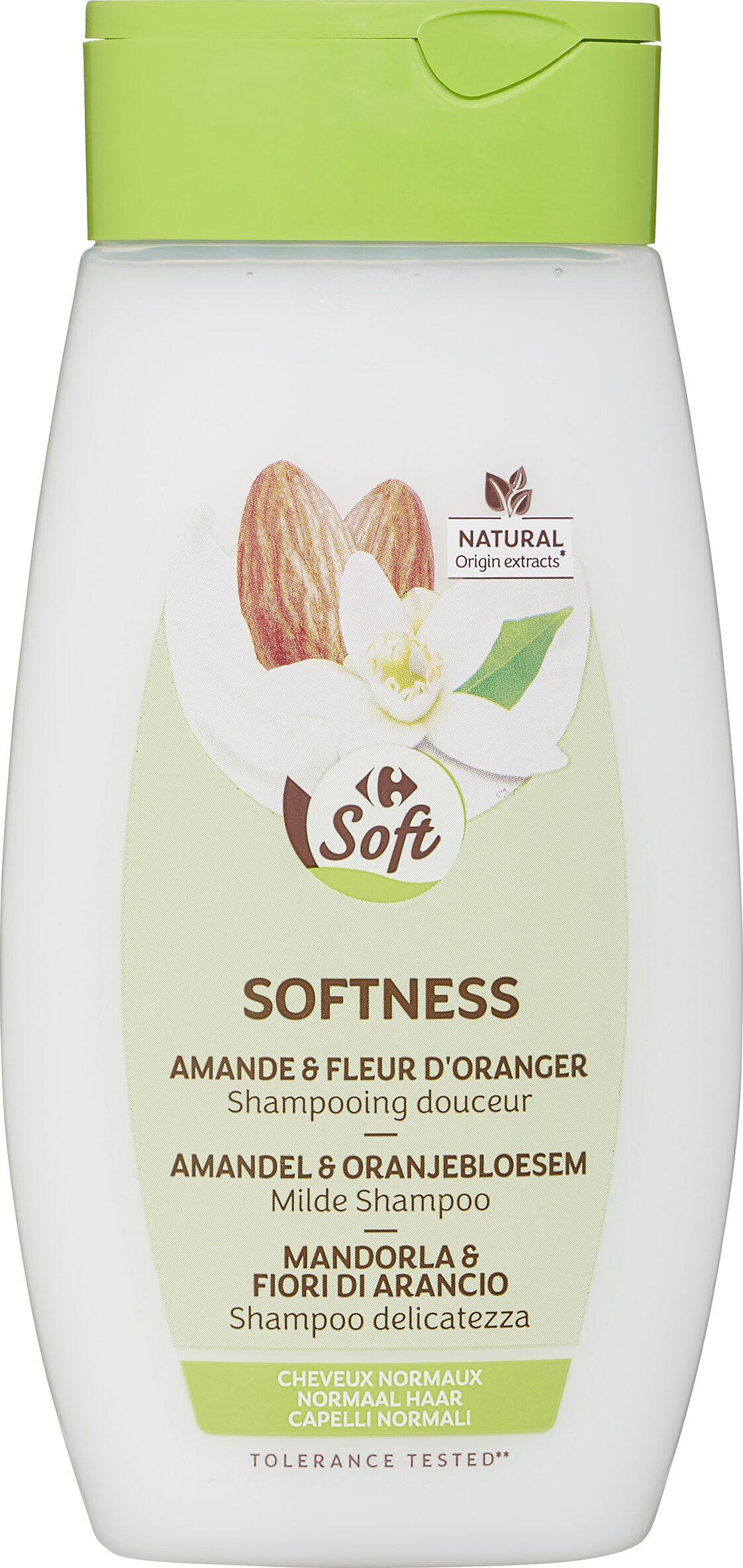 Shampooing douceur et brillance au lait d'amande douce et à la fleur d'oranger - Produit - fr