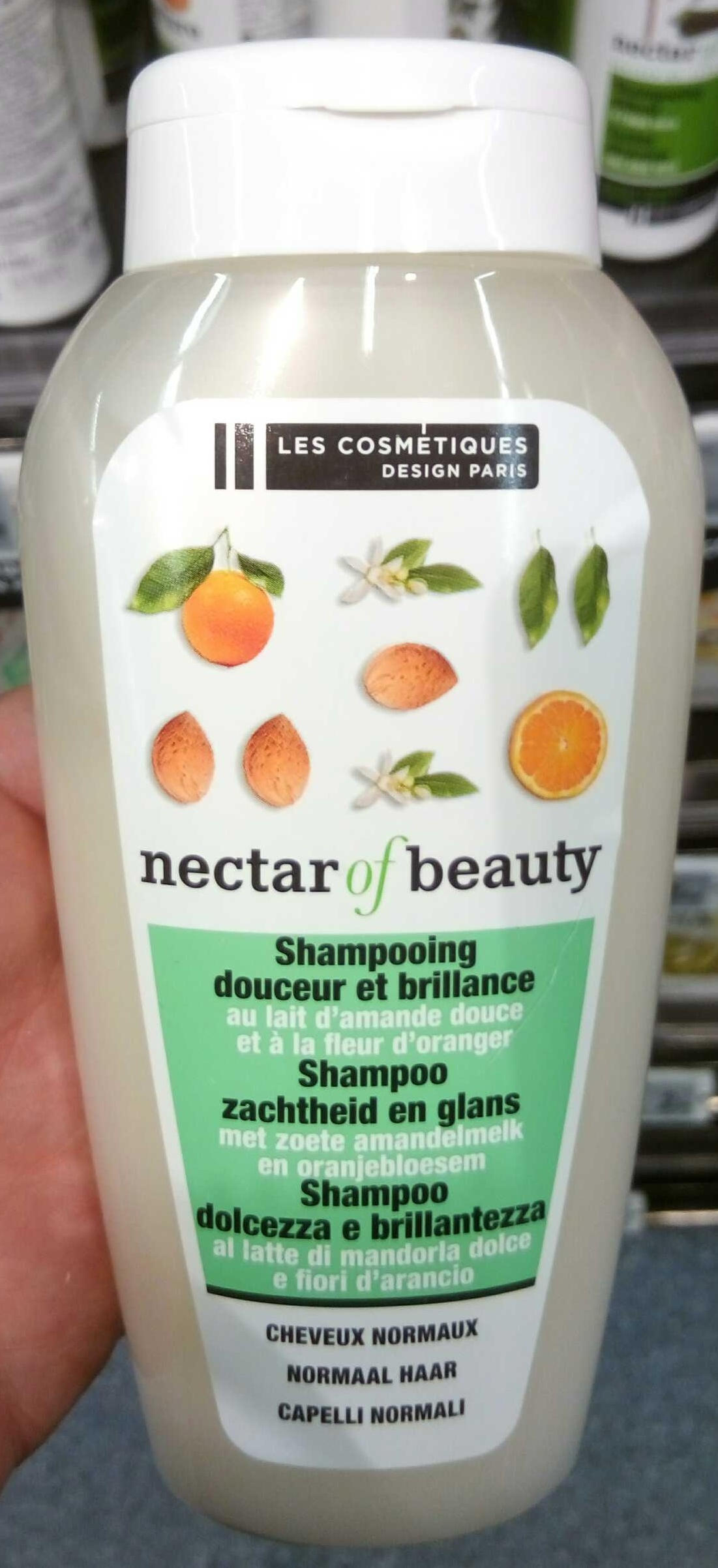 Shampooing douceur et brillance au lait d'amande douce et à la fleur d'oranger - Produit