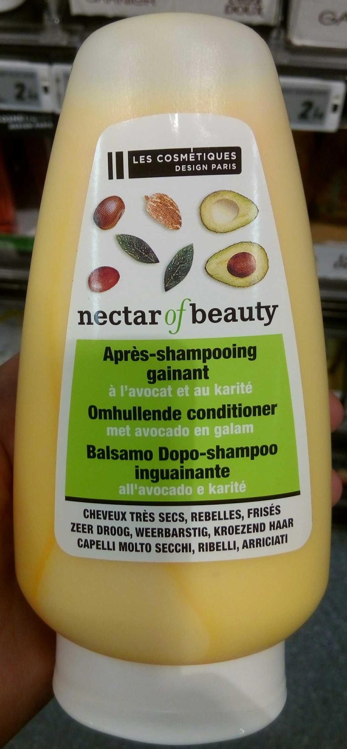Après-shampooing gainant à l'avocat et au karité - Product - fr
