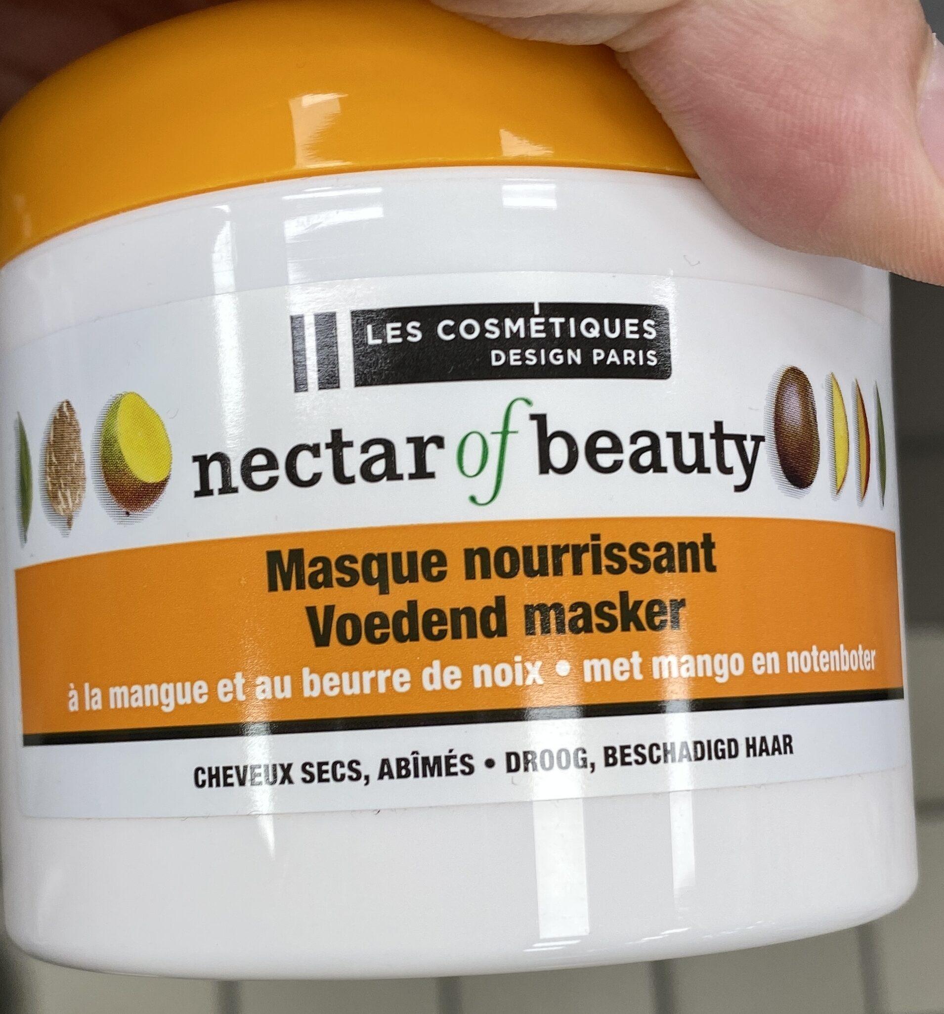 Masque nourrissant à la mangue et au beurre de noix - Produit - fr