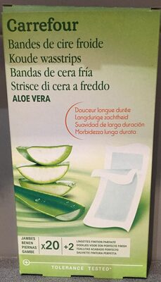Bandes de cire froire - Aloe Vera - Jambes - Product - fr
