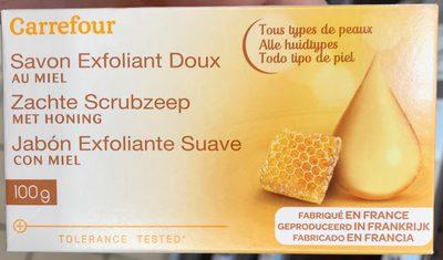 Savon Exfoliant Doux au miel - 2
