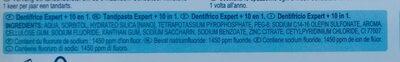 Dentalyss expert 10 en 1 - Ingredients - fr