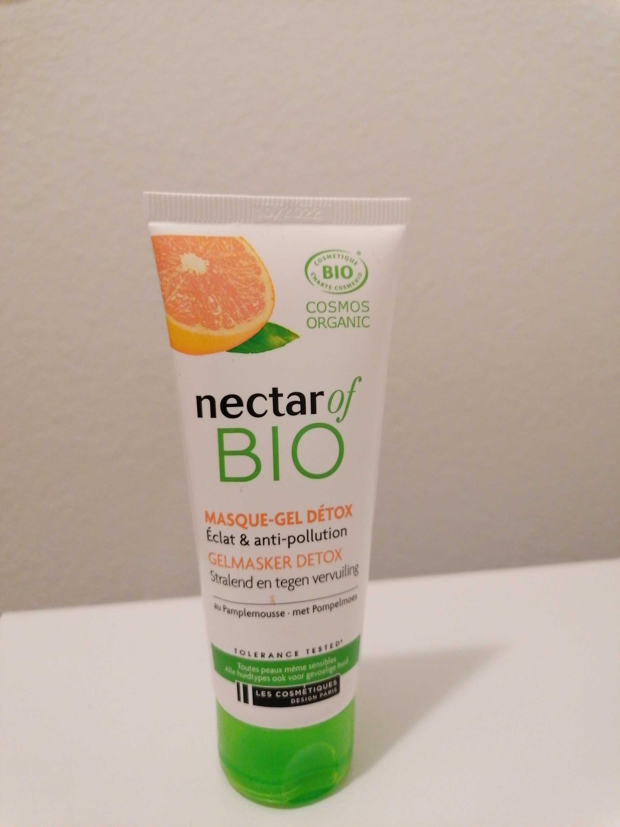 Masque gel detox éclat & anti pollution - Product - fr