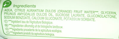 lingettes 100 % coton bio Carrefour Baby - Ingrédients - fr