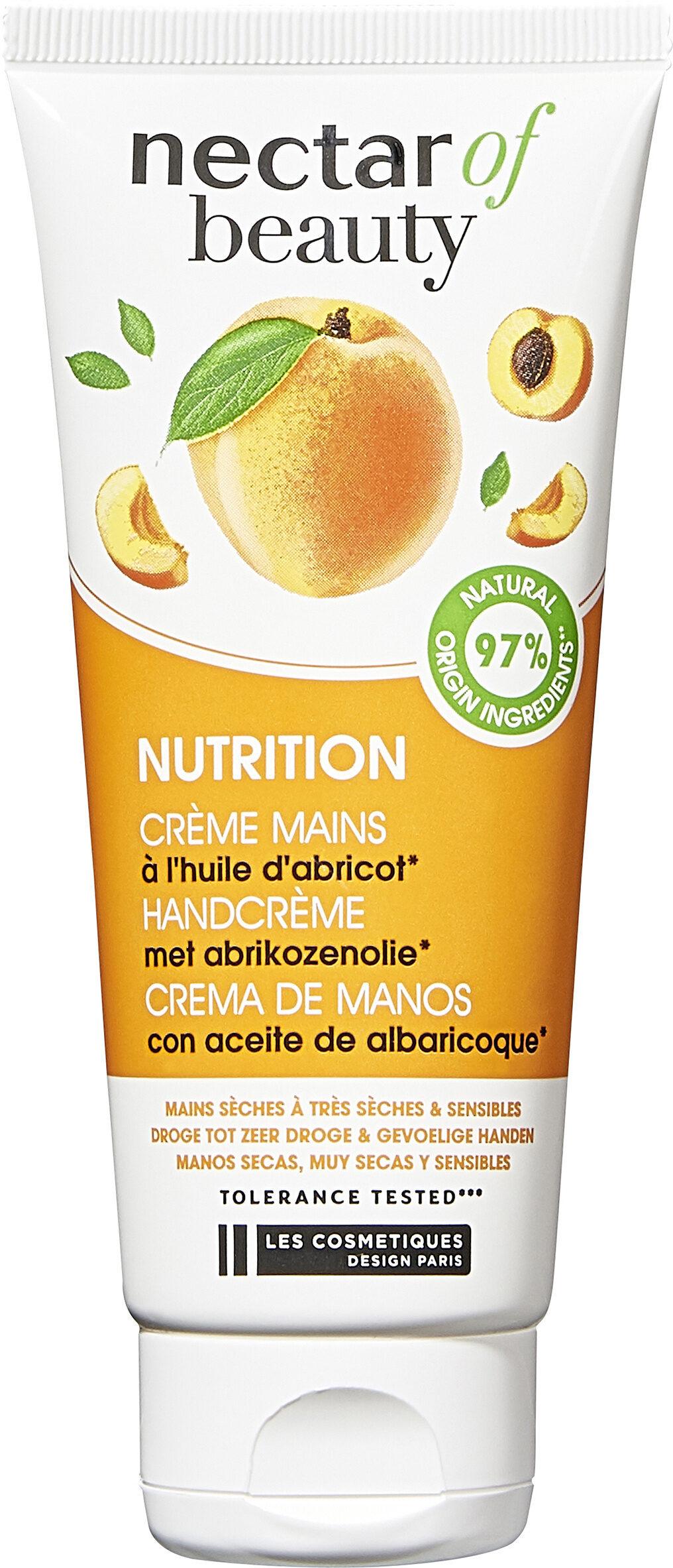 NUTRITION CRÈME MAINS à l'huile d'abricot - Product - fr