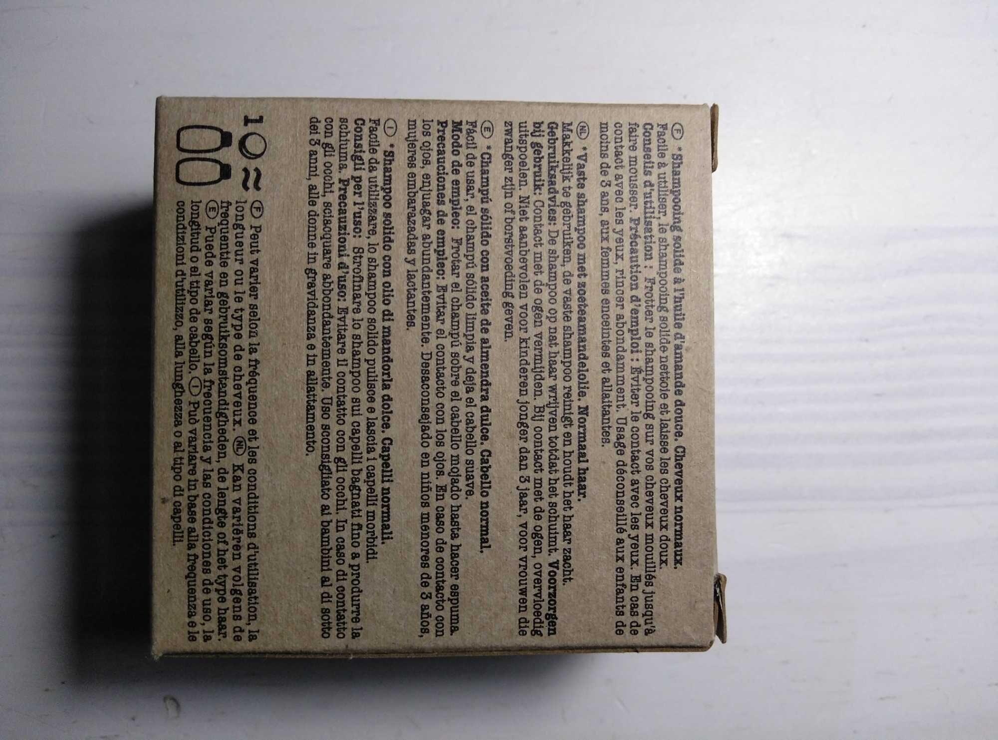 Solid shampoo - Product - es