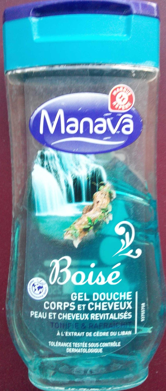 Gel douche corps et cheveux Boisé à l'extrait de cèdre du Liban - Product - fr
