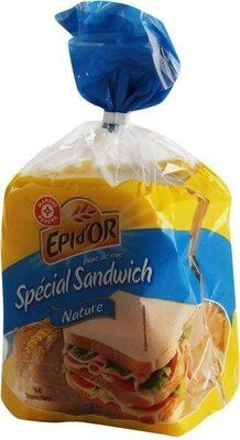 Pain de mie spécial sandwich nature - Product - fr