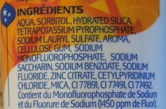 Dentamyl expert 8 en 1 - Ingredients - fr