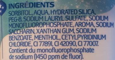 Dentamyl fraîcheur extrême - Ingredients - fr