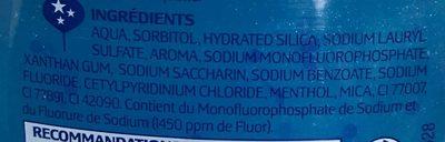 Fraîcheur extrême - Ingredients