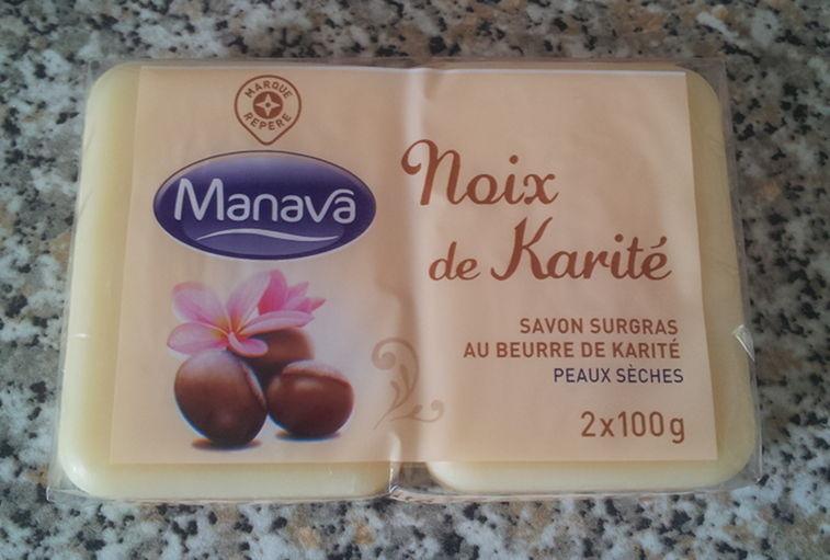 Noix de Karité - Savon surgras au beurre de karité - peaux sèches - Manava - Product - fr
