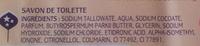 Noix de Karité - Savon surgras au beurre de karité - peaux sèches - Manava - Ingredients