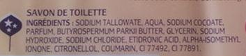 Noix de Karité - Savon surgras au beurre de karité - peaux sèches - Manava - Ingredients - fr