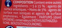 Visor Vaisselle Mure, 500ml - Ingrédients - fr