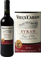 Vin de pays d'Oc Syrah rouge - Product - fr