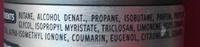 Déodorant Vétiver - Ingrédients - fr