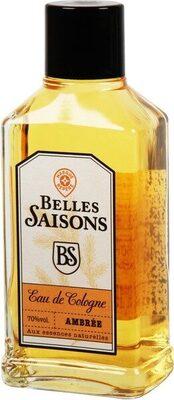 Eau de cologne ambrée - flacon - Product - fr