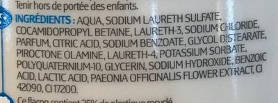 Antipelliculaire Shampooing - Ingredients - fr