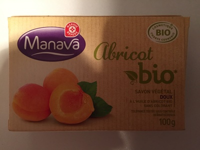 Savon végétal doux Abricot bio - Produit - fr