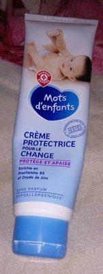 Crème protectrice pour le change - Produit