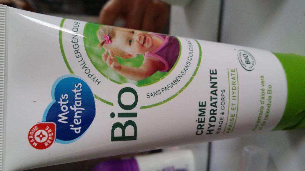 Crème hydratante visage et corps - Produit