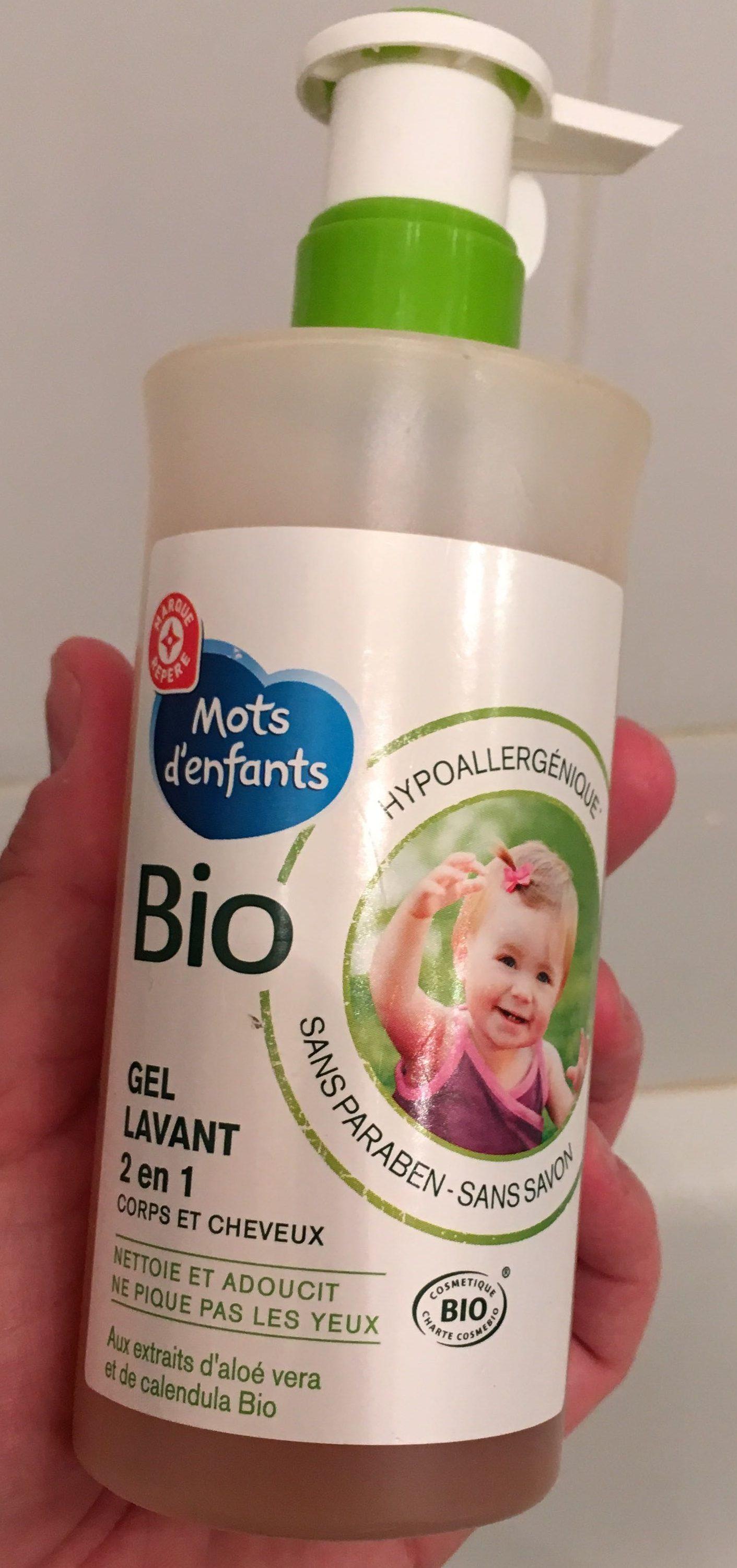 Gel lavant 2 en 1 Bio - Product
