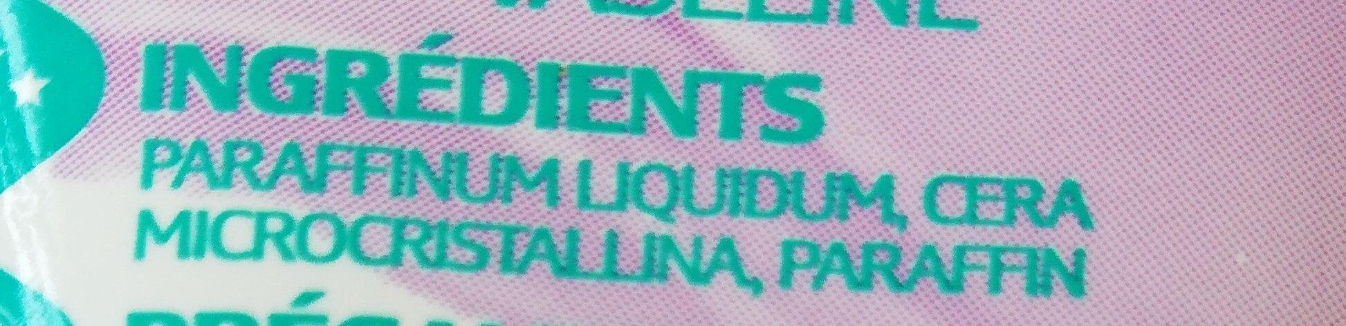 Vaseline pure - Ingrédients