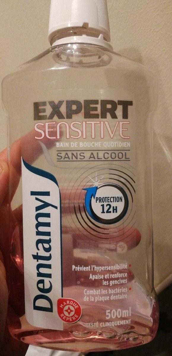 Dentamyl expert sensitive sans alcool - Produit - fr