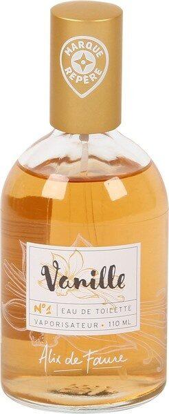 Eau de toilette vanille - Product