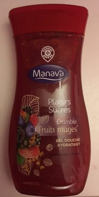 Plaisirs sucrés crumble fruits rouges - Product