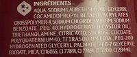 Plaisirs sucrés crumble fruits rouges - Ingrédients