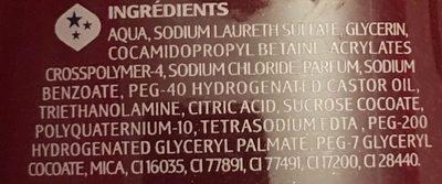 Plaisirs sucrés crumble fruits rouges - Ingredients