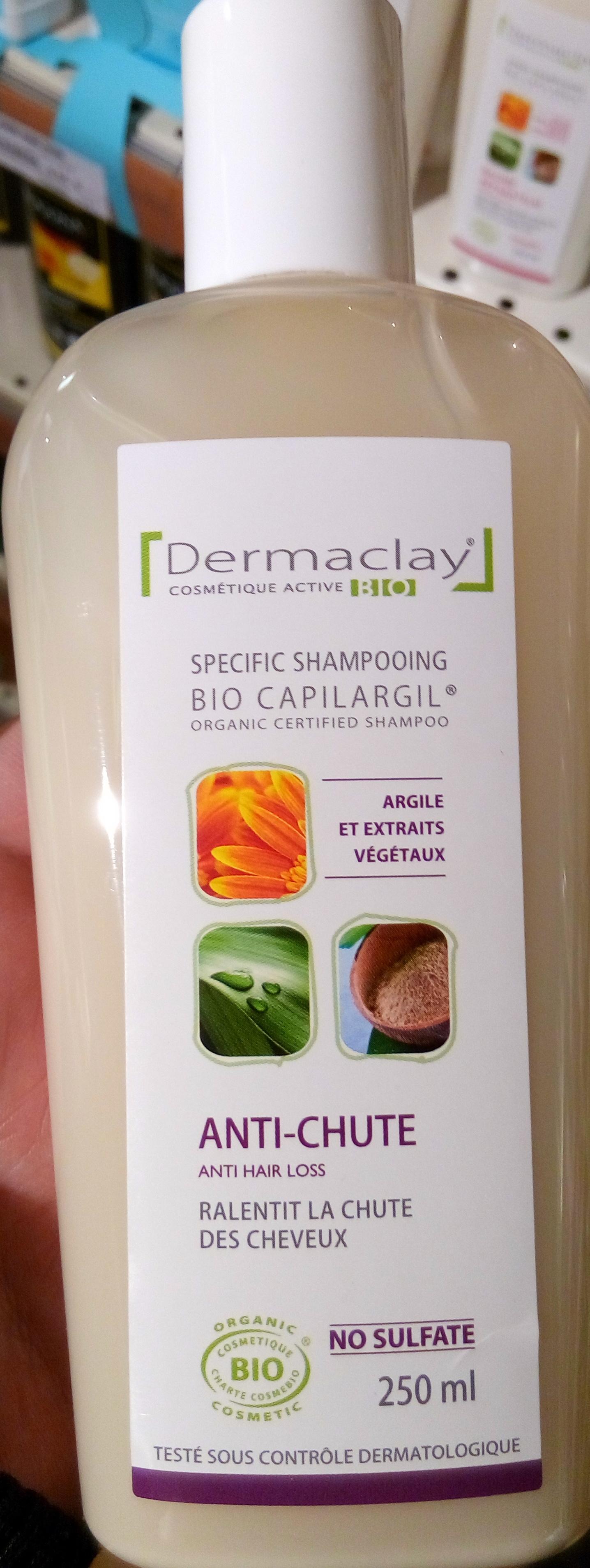 Bio Capilargil Specific Shampooing Argile et Extraits végétaux Anti-chute - Product