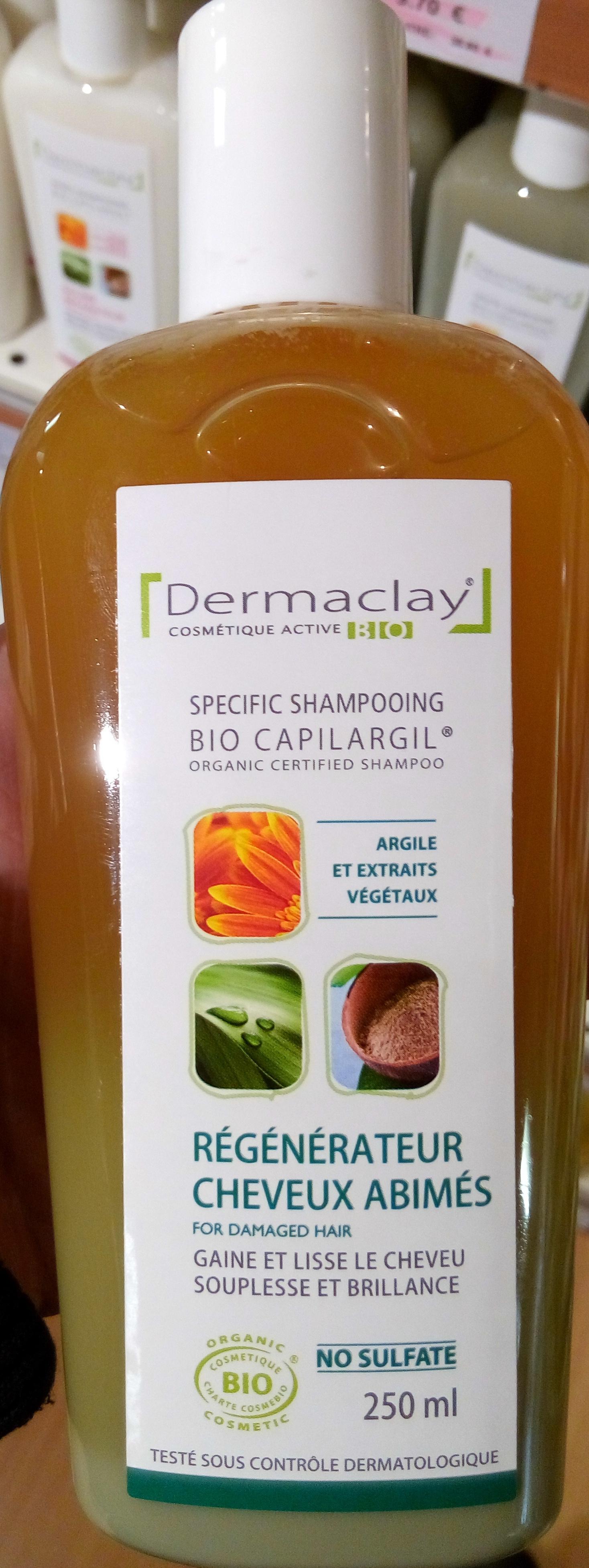 Bio Capilargil Specific Shampooing Argile et Extraits végétaux Régénérateur Cheveux Abimés - Produit